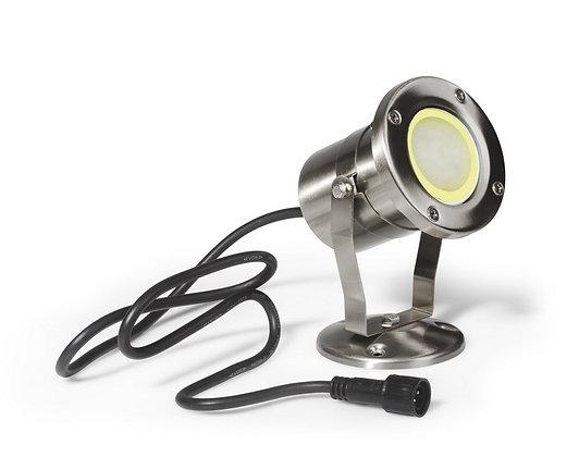 Projecteur Bassin  MM - INOX 304 - IP68/2m - MR20 LED 4W - 3000°K
