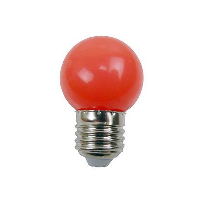 Ampoule - E27/G45 - 0,8/1W - Non dimmable - Rouge