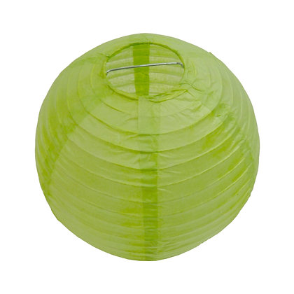 ABAT JOUR (S) - Lanterne papier diam 12cm - Vert