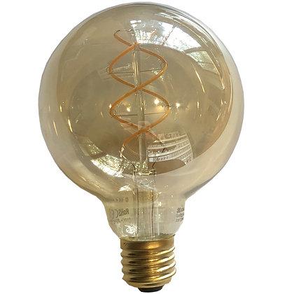 Ampoule E27/G95 - 4W/320 Lumens - 2200°K - Antic