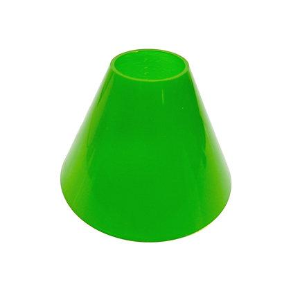ABAT JOUR (S) - Cône Plastique diam 12 cm - Vert