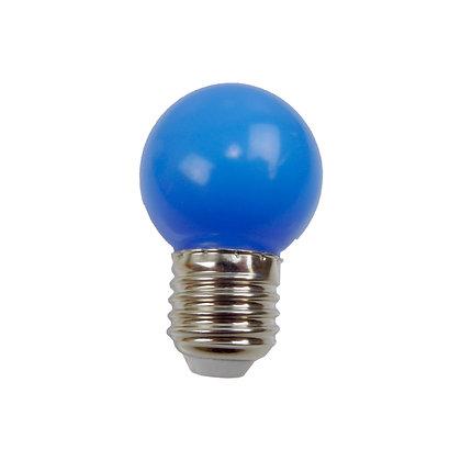 Ampoule - E27/G45 - 0,8/1W - Non dimmable - Bleu