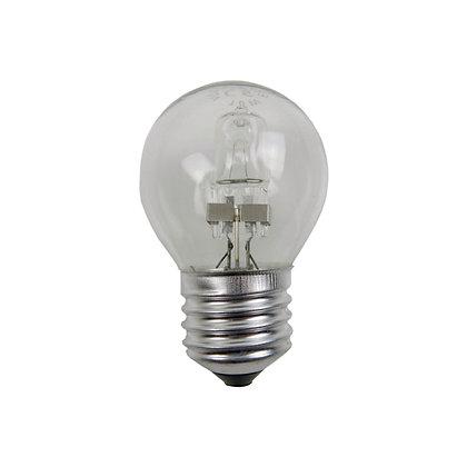 Ampoule E27/G45- Halogène 15/18W - Transparente