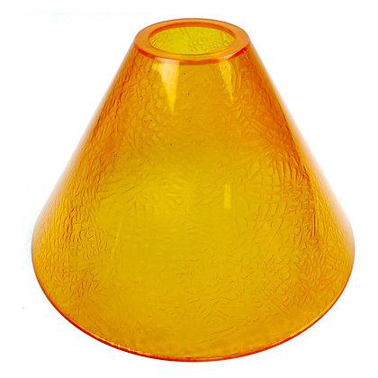 ABAT JOUR (L) -  Cône Plastique diam 17cm - Orange
