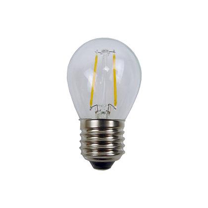 Ampoule E27/G45 - Filament LED - 2W - 3000°K