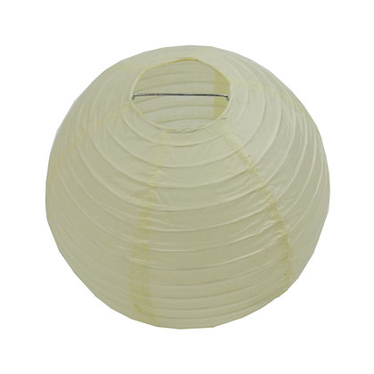 ABAT JOUR (S) - Lanterne papier diam 12cm -Beige