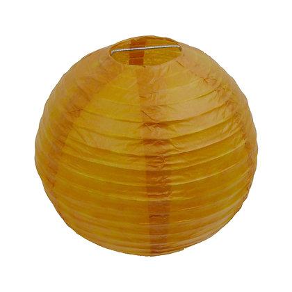 ABAT JOUR (S) - Lanterne papier diam 12cm - Camel