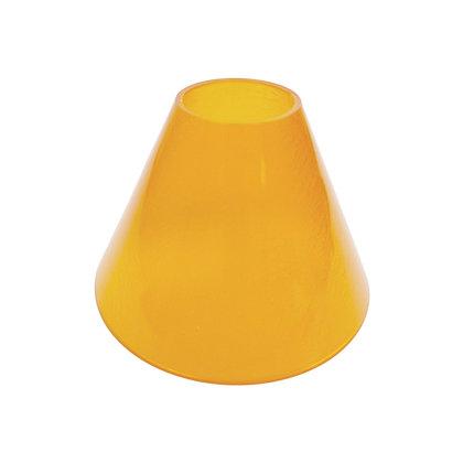 ABAT JOUR (S) - Cône Plastique diam 12 cm - Orange