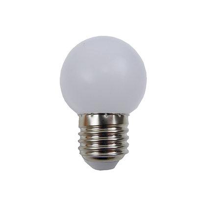 Ampoule E27/G45 - 0,8/1W - Non dimmable - Blanc Chaud 3000K°