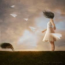 Lifted Up on the Wings of  the Wind