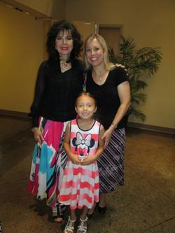 Charlotte, Hannah, and Chaunta