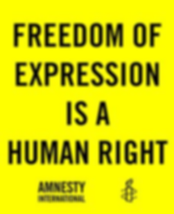 Amnesty Amherst Freedom of Expression is a Human Right