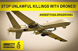 Amnesty Amherst Drones