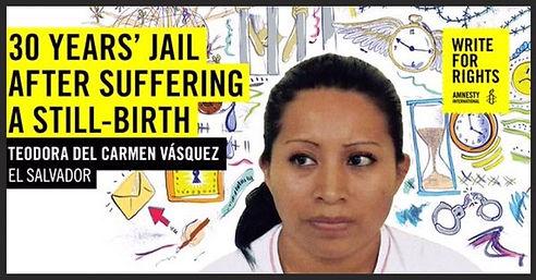 Amnesty Amherst Teodora Del Carmen Vásquez