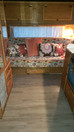 And another Vintage Camper done and gone to it's new Owners! This vintage cowboy motif had my he