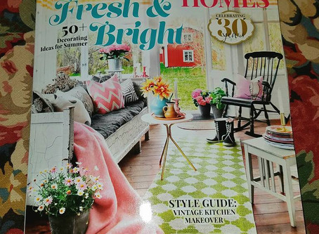 Romantic Homes Magazine... They like us.. They really like us <3 <3 <3