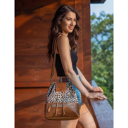 Zesty Leather Bag by Myra Bags