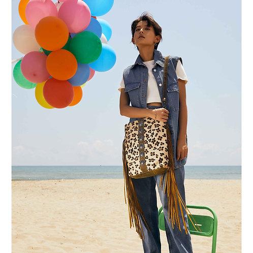 Ornamental Leather Bag by Myra Bag