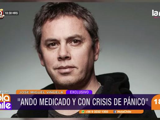 """Viñuela tras su salida de """"Mucho Gusto"""": """"Ando medicado y con crisis de pánico"""""""