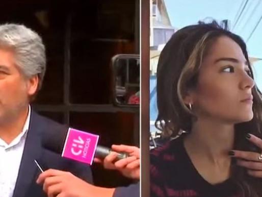 Padre de Antonia Barra pide a Canal 13 que reintegre a periodistas despedidos tras polémica