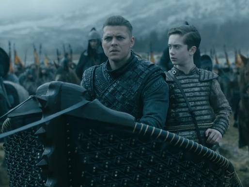 """""""Vikingos"""": Revelan impactantes imágenes de la etapa final de la serie"""