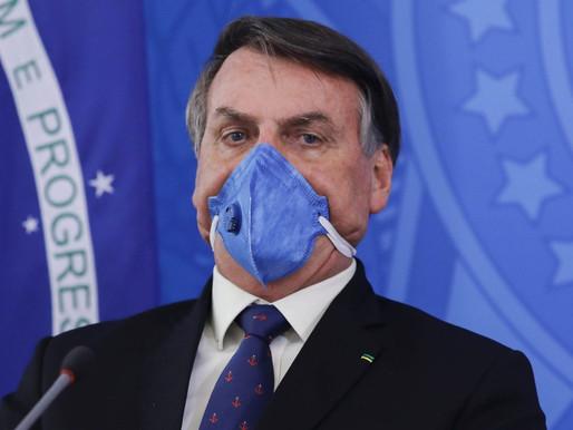 El Karma existe: Bolsonaro dio positivo por Covid-19