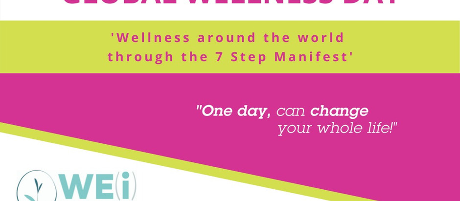 Wellness around the world through the 7-step GWD manifest