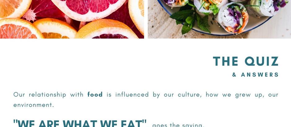 WE(i) Talk - Food Edition - The Quiz