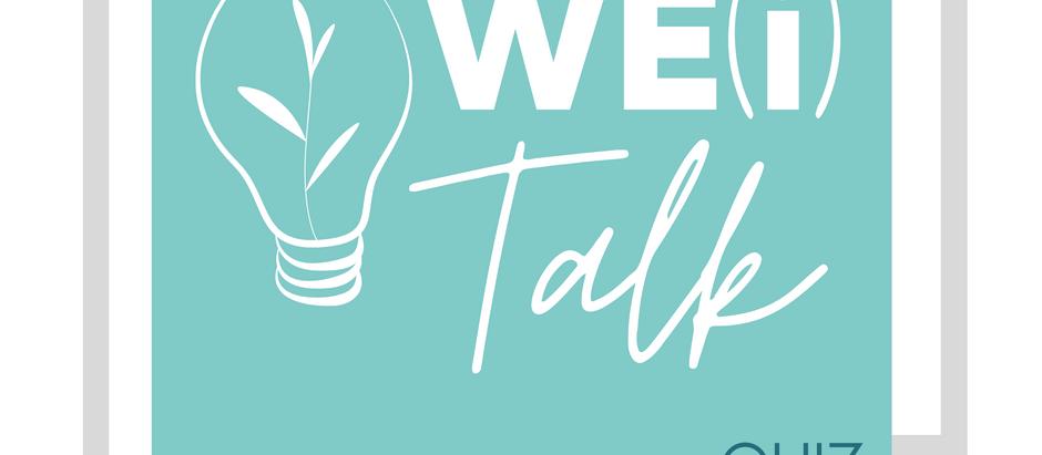 WE(i) Talk - Wellness Edition - The Quiz