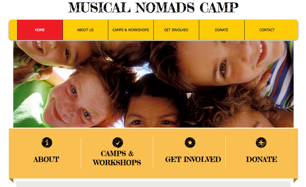 Musical Nomads Camp