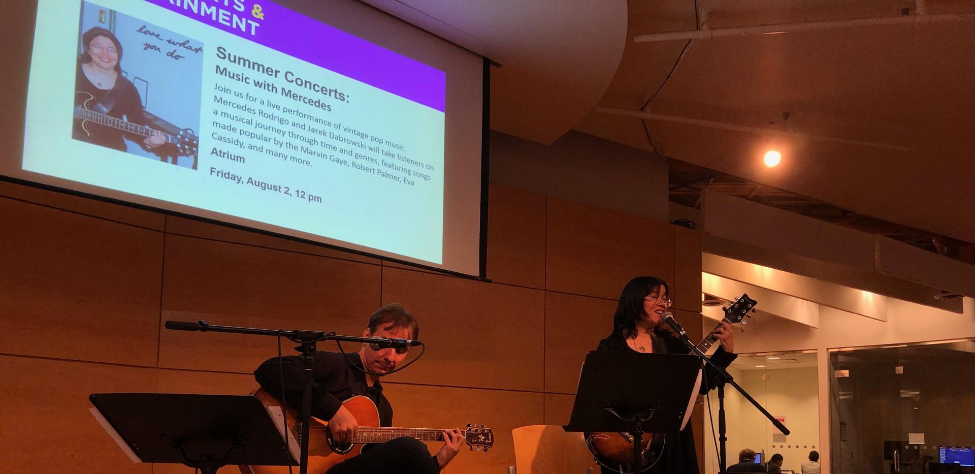 Mercedes Rodrigo at Toronto Reference Library 2019