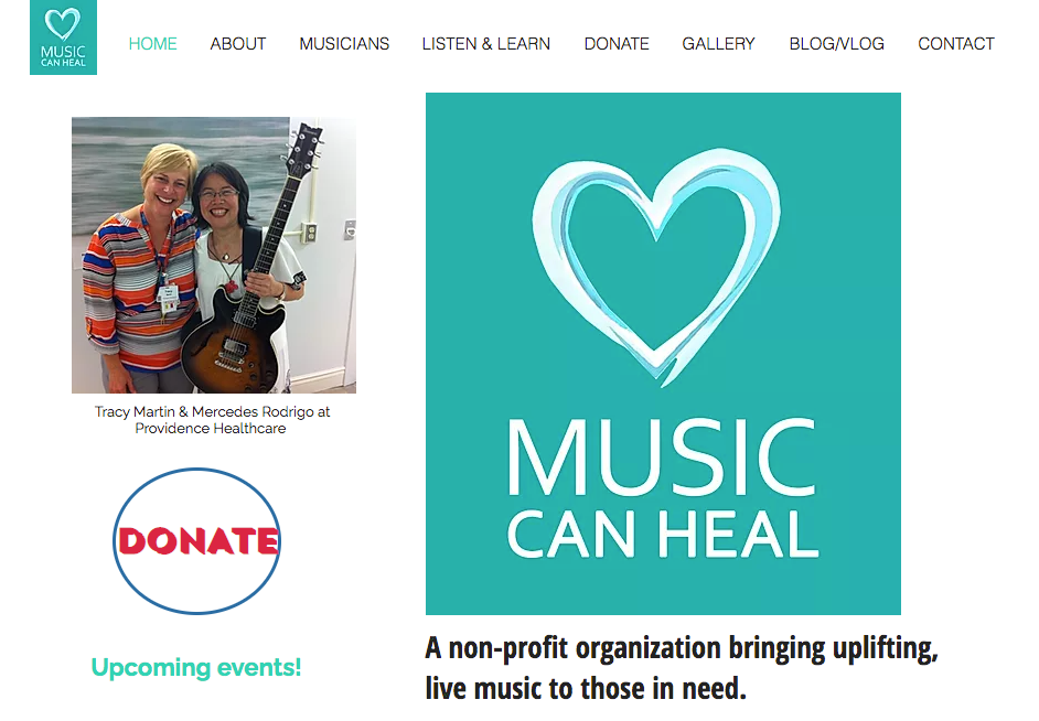 Music Can Heal Non-Profit Organization