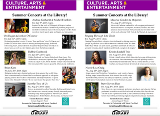 A successful Summer Concert Series at Toronto Reference Library