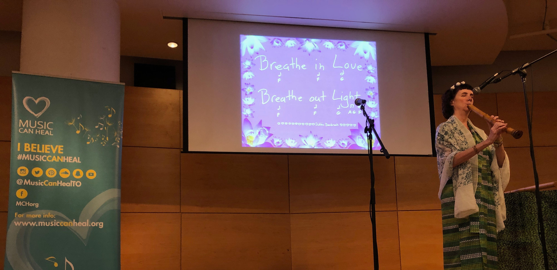 Soothing Shakuhachi by Debbie Danbrook at Toronto Reference Library 2019