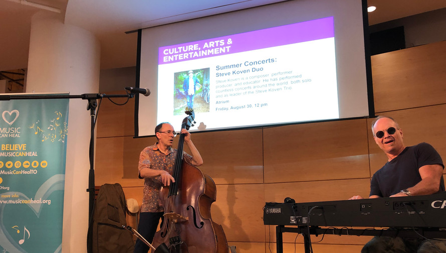 Steve Koven at Toronto Reference Library 2019