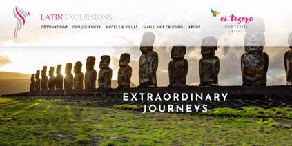 Latin Excursions Website Relaunch