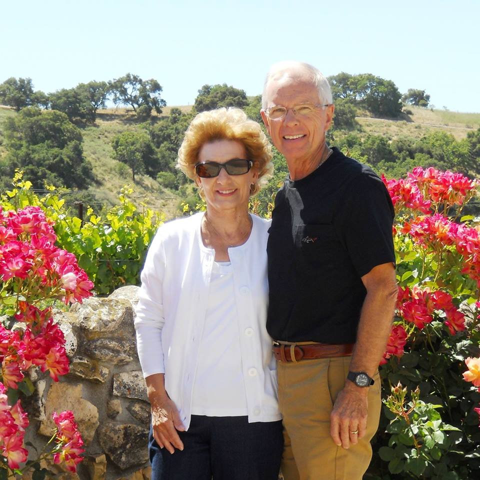Jim Kennedy and his wife.