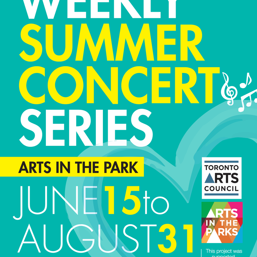 2016 Arts In the Park Flyer