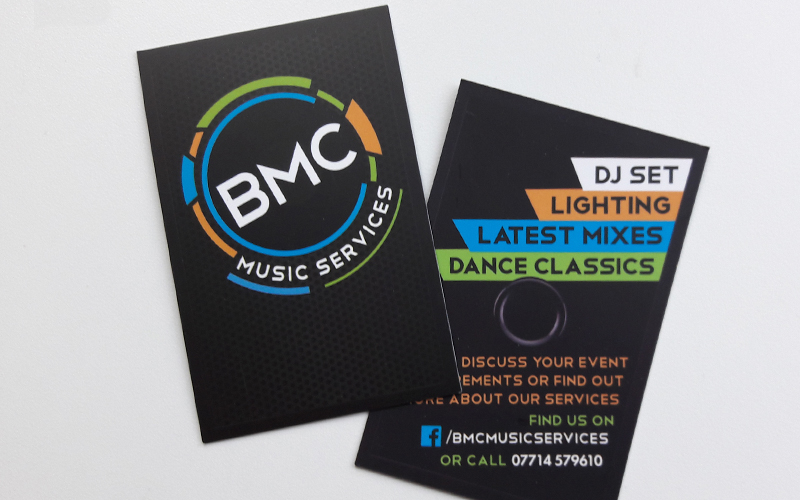 BMC Music Service Brand & Stationery