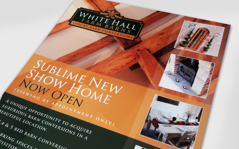 White Hall Brand ID & Advert