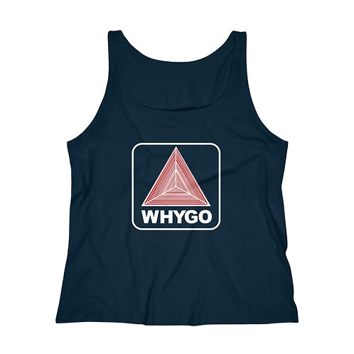 Why Go Boston Women's Relaxed Jersey Tank Top Variant