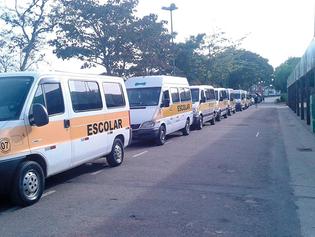 Dias 26 e 27 veículos escolares têm vistoria obrigatória no Detran