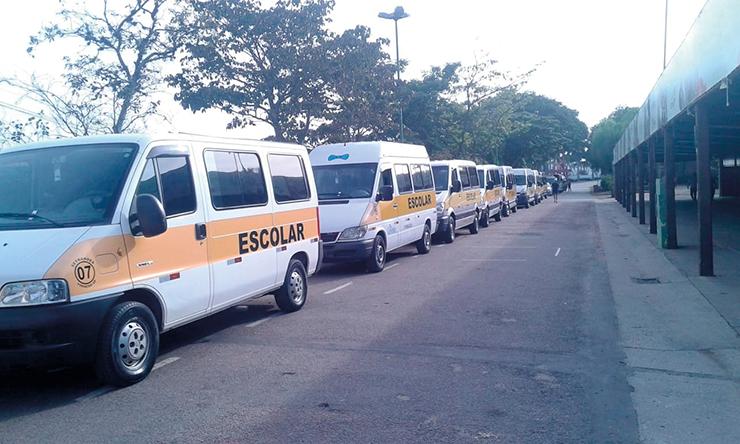 Dias 26 e 27 veículos escolares têm vistoria obrigatória no Detran VINHEDO