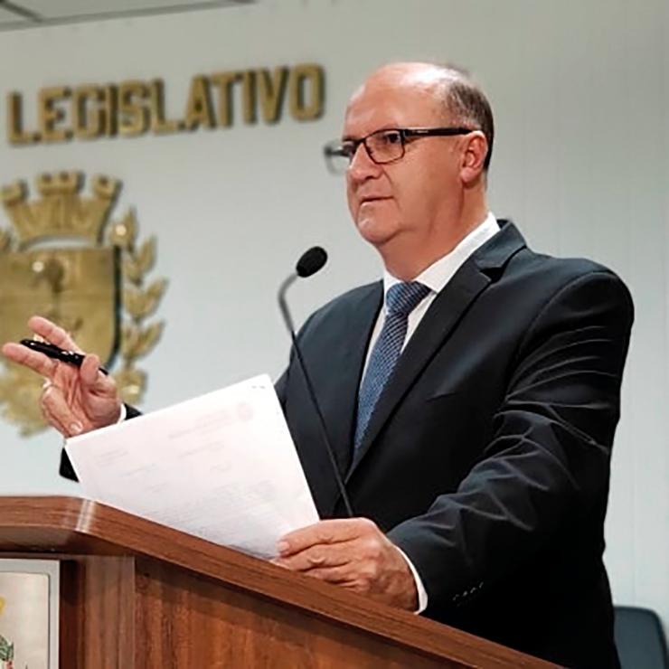 Vereador Rubens Nunes está internado com Covid-19 VINHEDO