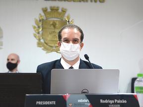 Presidente da Câmara, Rodrigo Paixão, rompe com o governo Dr. Dario