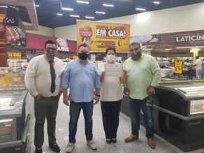 Santa Casa recebe R$ 30 mil de supermercado