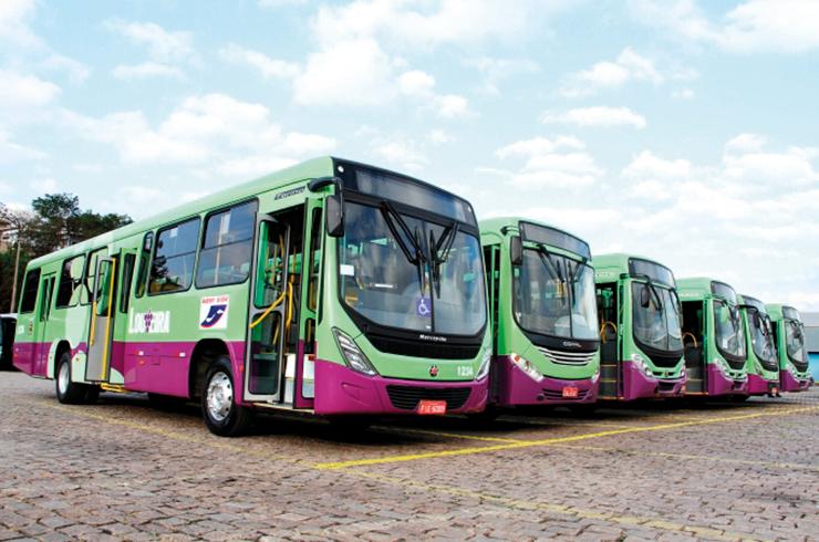 Cidade terá passagens de ônibus a R$ 2 e transporte gratuito no fim de semana LOUVEIRA