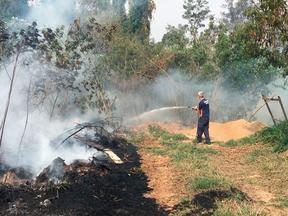 Três incêndios potencialmente perigosos atingem região da Capela