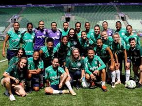 Palmeiras feminino faz seu primeiro jogo em casa no domingo, 6