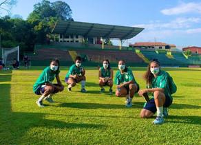 Time feminino do Palmeiras retoma atividades esportivas em Vinhedo